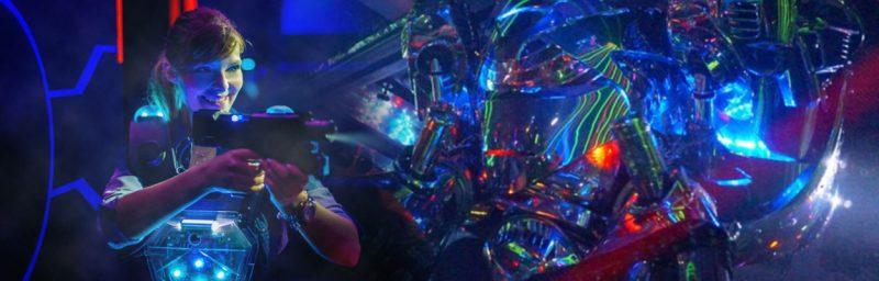 Лазертаг в QuestZone квесты для взрослых хоррор Днепр