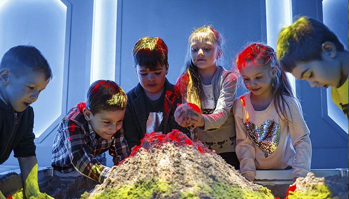 Интерактивная песочница в QuestZone квесты для детей Днепр